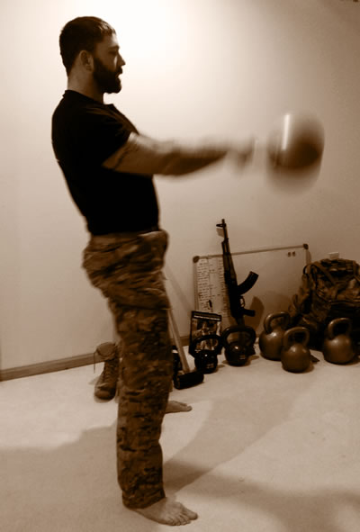 StrongFirst kettlebell swing