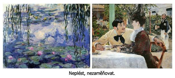 Manet vs. Monet