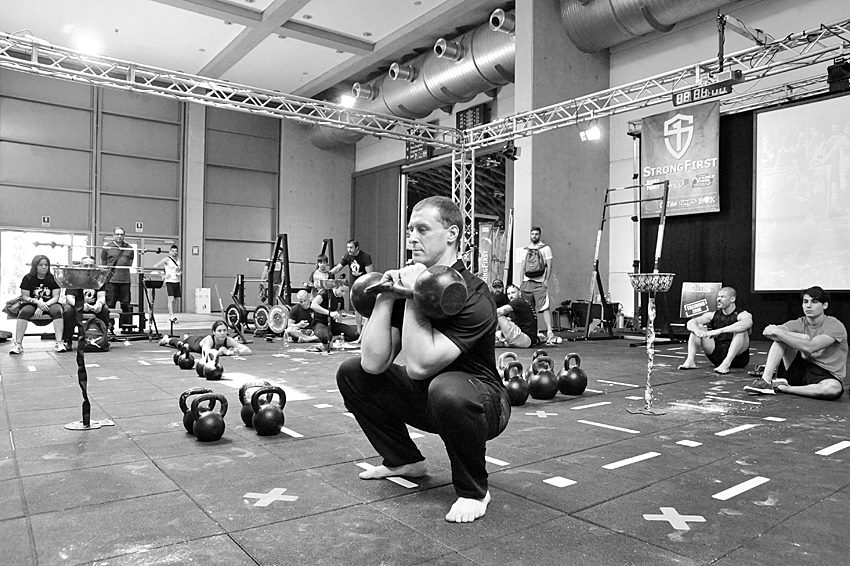 Alexey Senart, StrongFirst SFG Team Leader