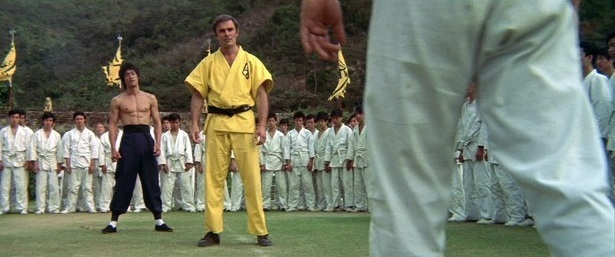 Bruce Lee & John Saxon, Enter the Dragon