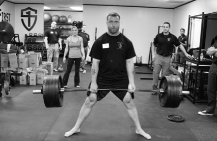 StrongFirst deadlift