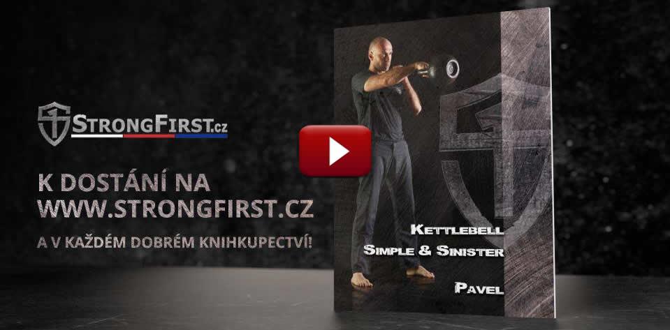 Promo klip ze slavnostního křtu českého vydání knihy Kettlebell: Simple & Sinister