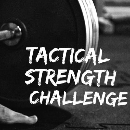 StrongFirst Tactical Strength Challenge