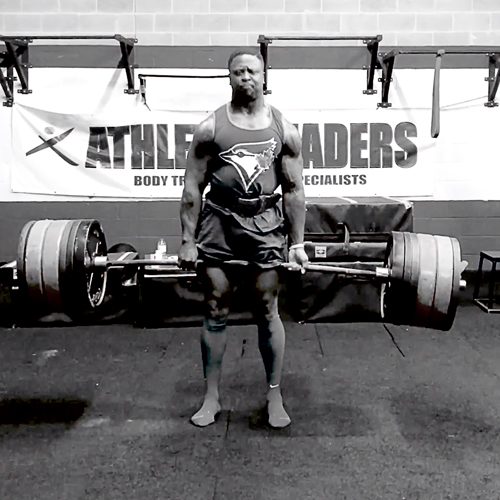 Granville Myers, StrongFirst Team Leader deadlift
