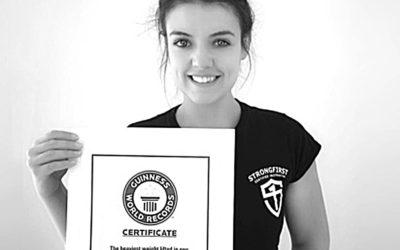 Jak jsem se stala držitelkou světového rekordu