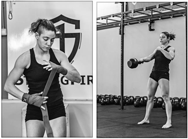 Ilaria Scopece, číslo tři profesionální lehká muší váha v boxu v Evropě, certifikovaná StrongFirst instruktorka